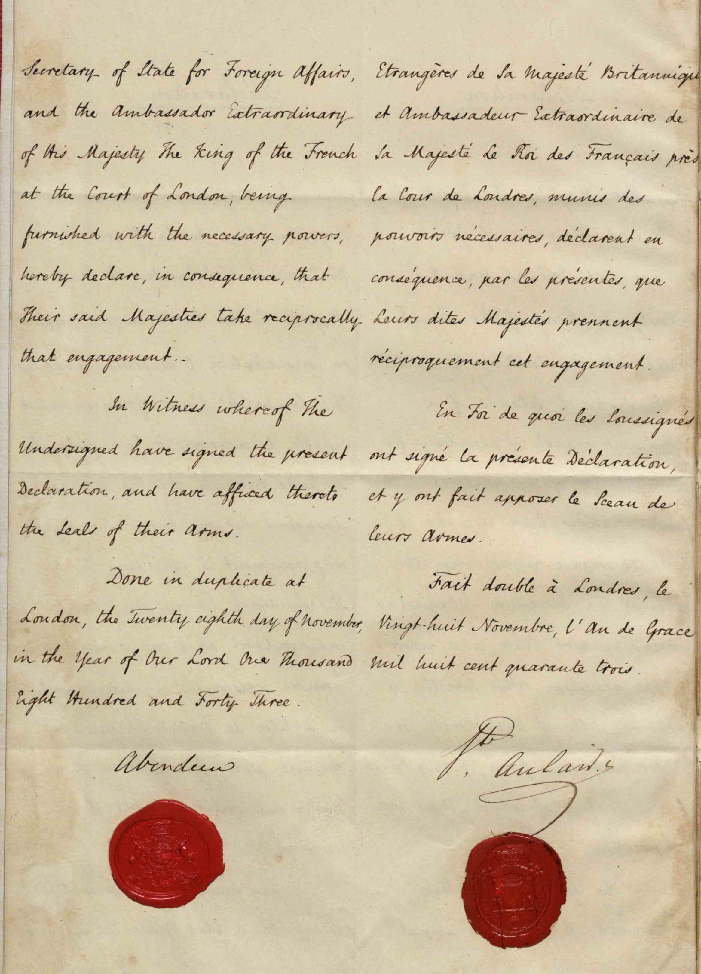 Hawaiian Kingdom International Treaties